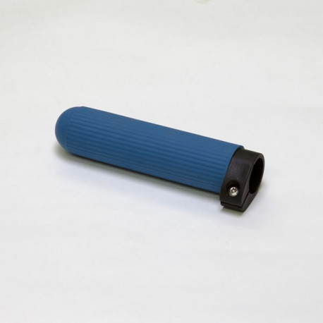 Scull and Skinny Sweep Grip, Azure Blue Ribbed Rubber, Adjustable