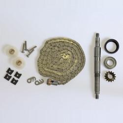 Kette Achse Zahnrad Austausch-Set - Modell C
