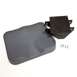 Seat Top with Frame and Screws—Model A, B