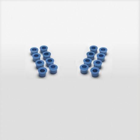 Scull Oarlock Bushings, 13 mm, Blue